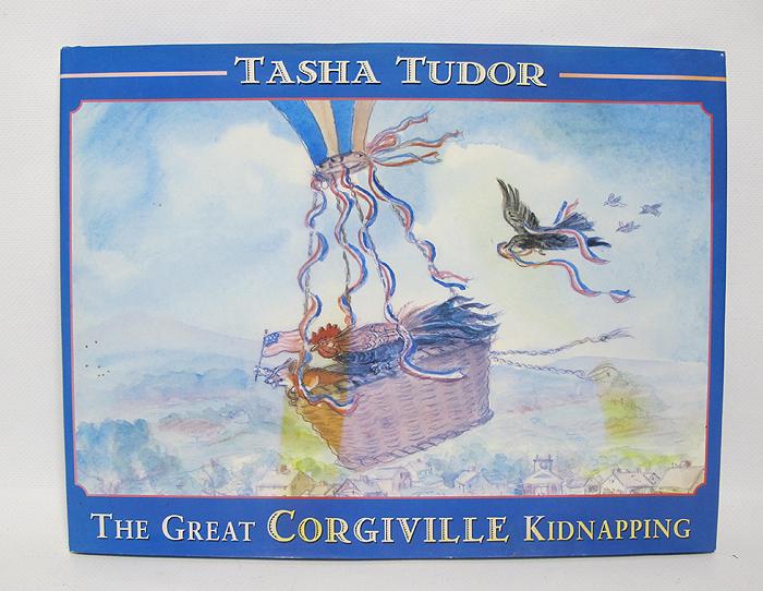 Signed first edition tasha tudor great corgiville for Tudor signatures